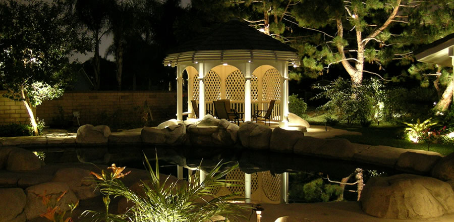 Low voltage lighting services low voltage lighting services reflect on the water aloadofball Gallery