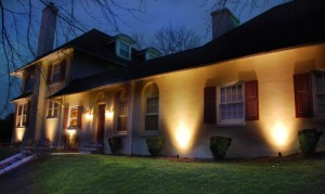 landscape lighting curb appeal